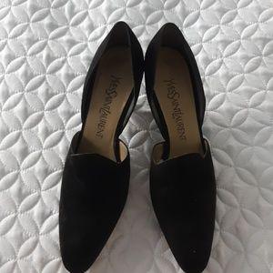 Vintage Yves Saint Laurent low heels